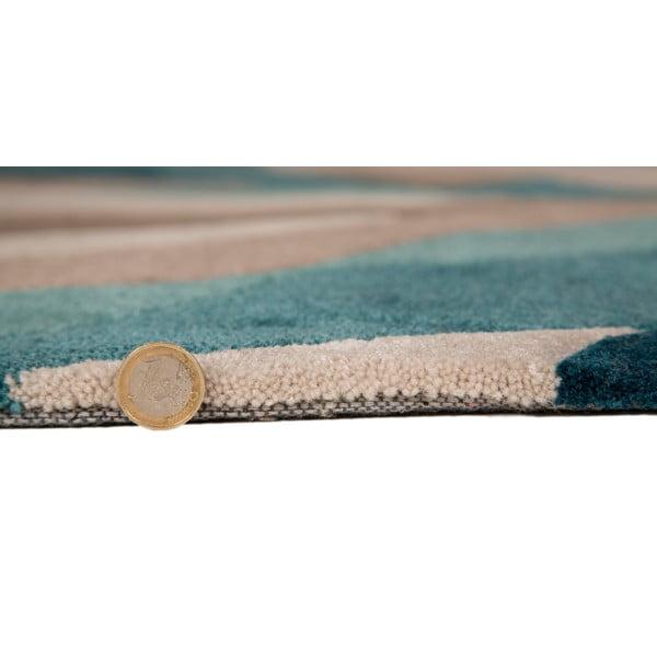 Koberec Flair Rugs Splinter Teal, 160×220cm