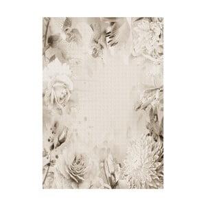 Vinylový koberec Rosas Sepia, 100x150 cm