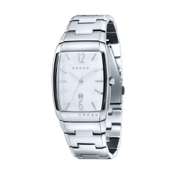 Pánske hodinky Cross Arial Silver White, 32.5 mm
