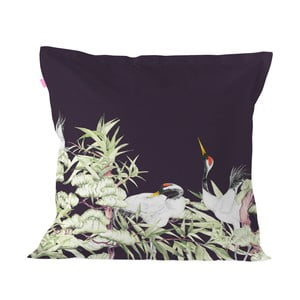 Bavlnená obliečka na vankúš Happy Friday Pillow Cover Cranes, 60 × 60 cm