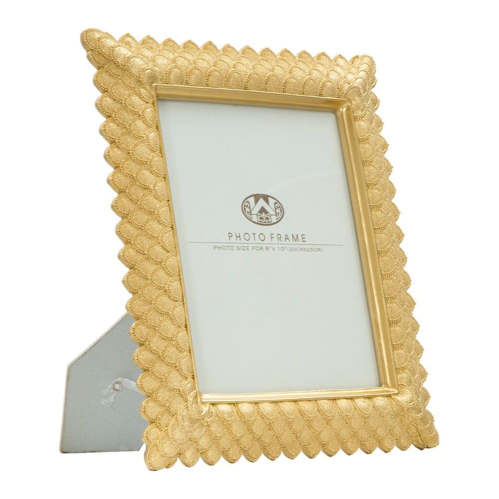 Stolový fotorámik v zlatej farbe Mauro Ferretti Scale, 20 × 25 cm