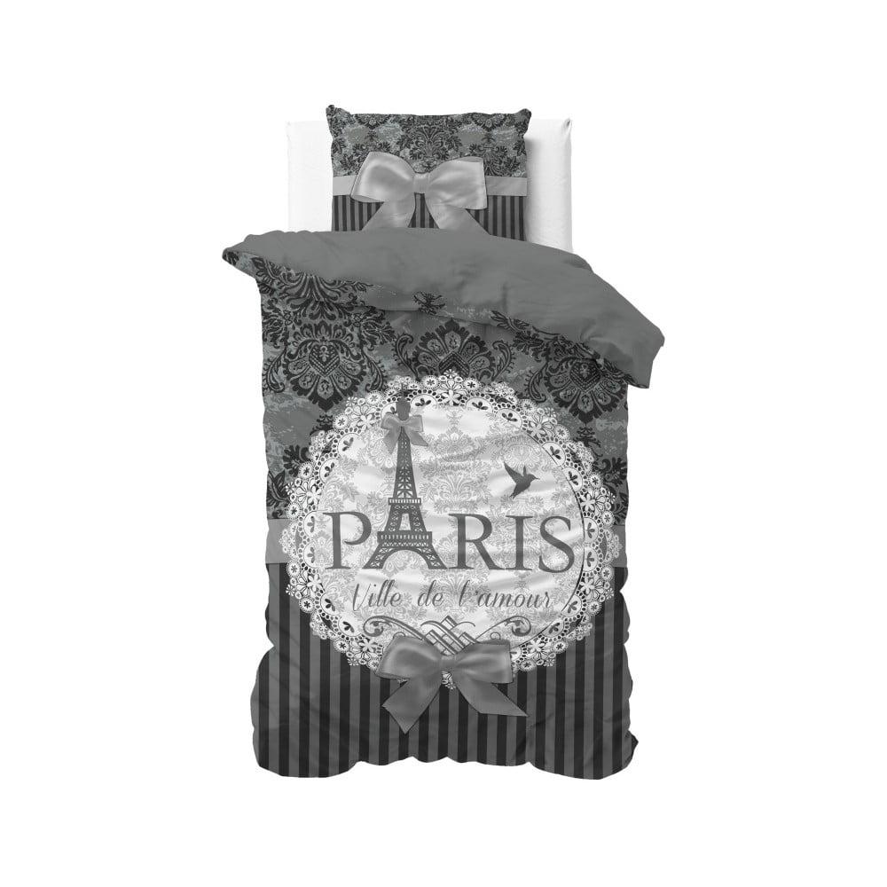 Bavlnené obliečky na jednolôžko Sleeptime Paris, 140 × 220 cm