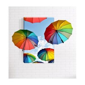 Nástenný 3D obraz Mosticx Rainbows, 40 x 60 cm