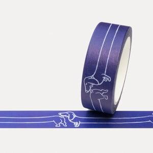 Washi páska U Studio Design Psík, dĺžka 4 m