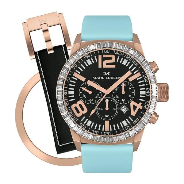 Dámske hodinky Marc Coblen s remienkom a krúžkom na ciferník naviac P110