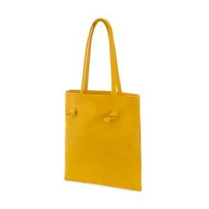 Dámska kožená taška Woox Simplex Lutea