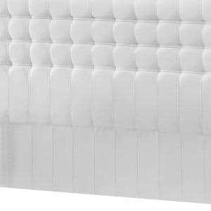 Biele čelo postele Novative Sylphyde, 140×118cm