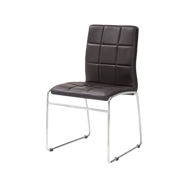 Jedálenská stolička Kid, tmavohnedá