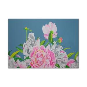 Obraz Peonies Flowers III, 100x70 cm