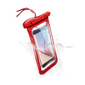 Vodoodolné univerzálne puzdro Cellularline VOYAGER, červené