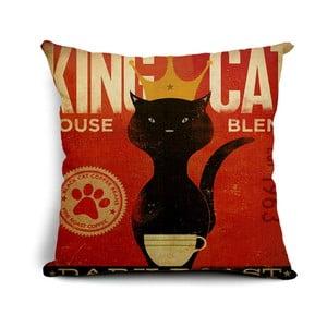 Obliečka na vankúš King Cat, 45x45 cm