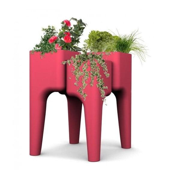 Dizajnový kvetináč KIGA Medium 88x68 cm, červený