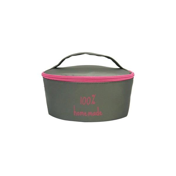 Puzdro na desiatovú krabičku Bento G Lunch Grey/Pink