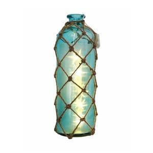 Sklenená váza s motívom hviezdičiek Dino Bianchi, výška 32 cm