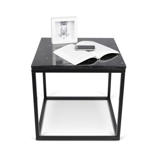 Malý čierny stolík TemaHome Prairie Marble