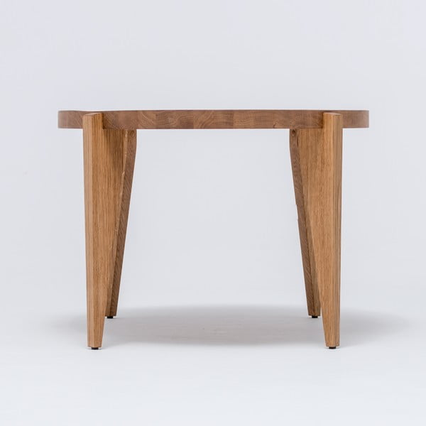 Dubový kávový stolík Bontri, 120x50 cm