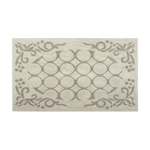 Bavlnený koberec Rija 100x200 cm, krémový