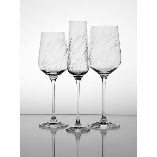 Ateliér Žampach, set 2 ks pohárov na šampanské Timotejka