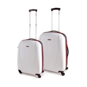 Sada 2 kufrov Tempo, biela