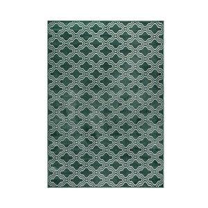 Zelený koberec White Label Feike, 160 x 230 cm