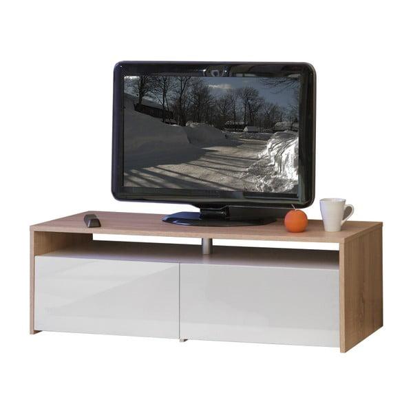 Hnedo-biely TV stolík 13Casa Dakota