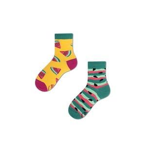 Detské ponožky Many Mornings Watermelon Splash, veľ. 31/34