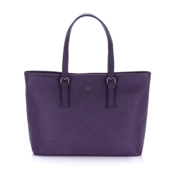 Kabelka Large Shopper Plum