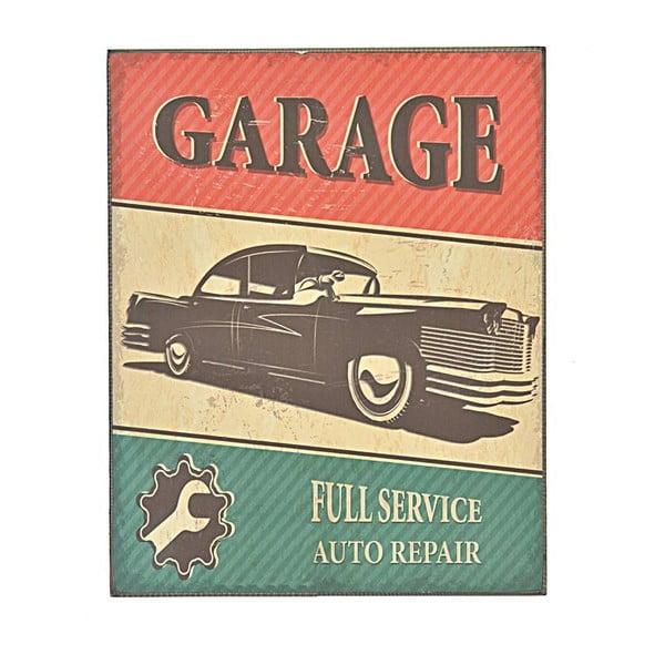 Nástenná ceduľa Garage 1, 24x30 cm