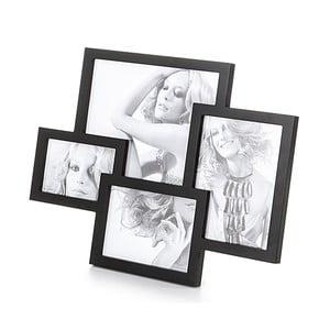 Čierny stolový fotorámik Tomasucci Collage