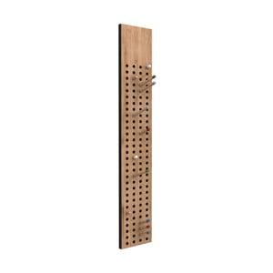 Nástenný variabilný vešiak z bambusu Moso We Do Wood Scoreboard, výška 100cm