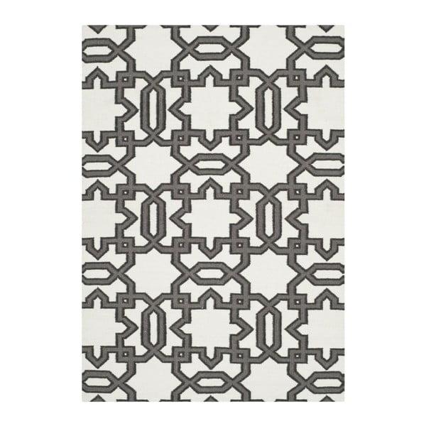 Vlnený ručne tkaný koberec Safavieh Kata, 91x152cm