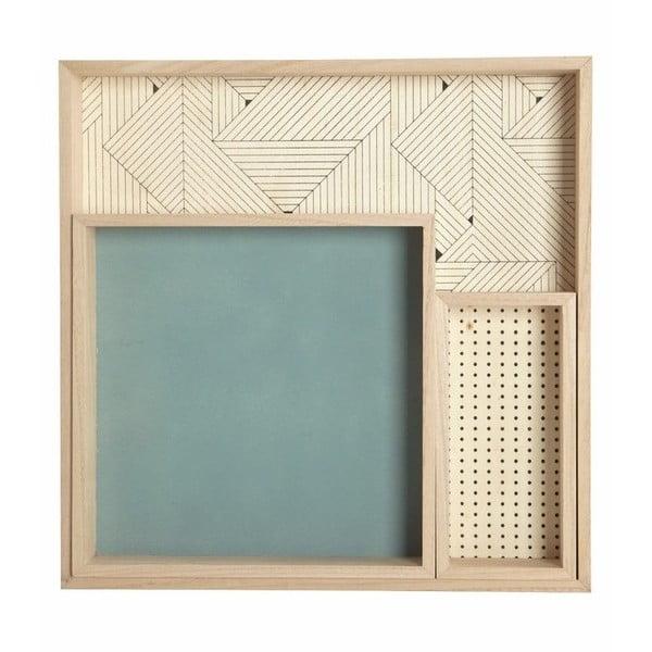 Set drevených podnosov Deco, 3 ks