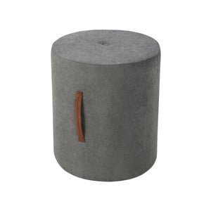 Tmavosivá taburetka Kooko Home Motion, ø 40 cm