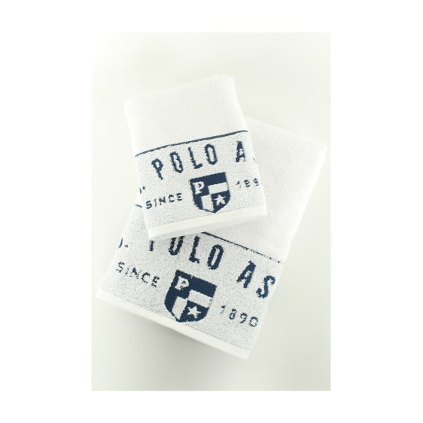 Sada 2 osušiek U.S. Polo Assn. Royal, 50 x 90 a 70x140 cm
