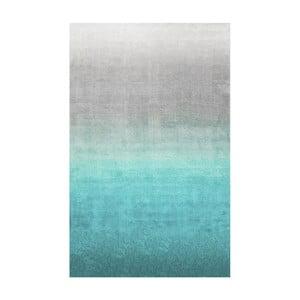 Koberec Ombre Turquoise, 122x183 cm