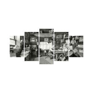 Viacdielny obraz Black&White no. 94, 100x50 cm