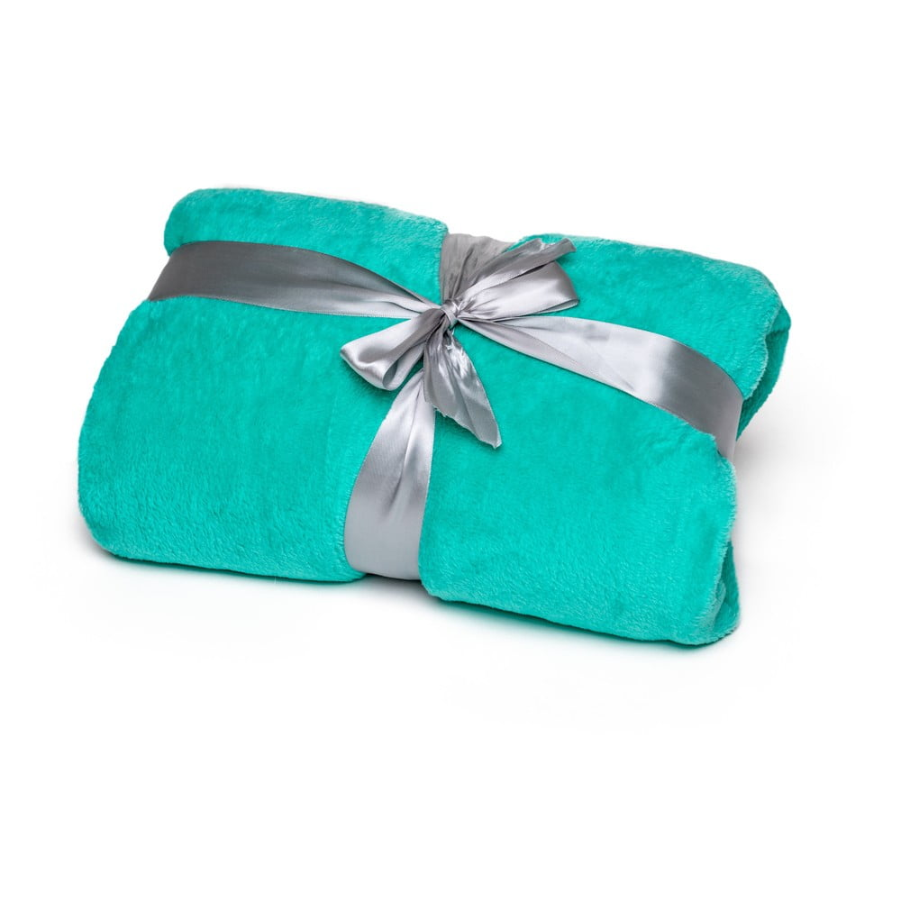 Zelená deka Tarami, 200 × 150 cm