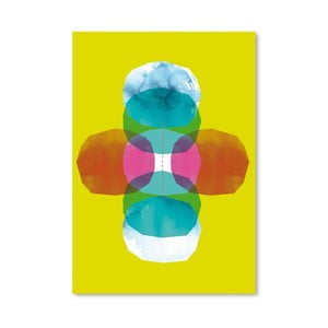Plagát Green Cross Journey Bright, 30x42 cm