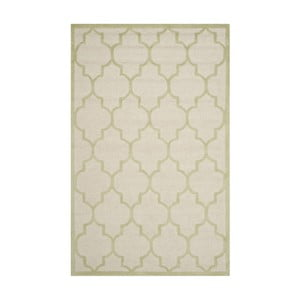 Vlnený koberec Everly Cream, 121x182 cm