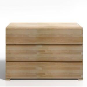 Komoda z bukového dreva s 3 zásuvkami SKANDICA Vestre
