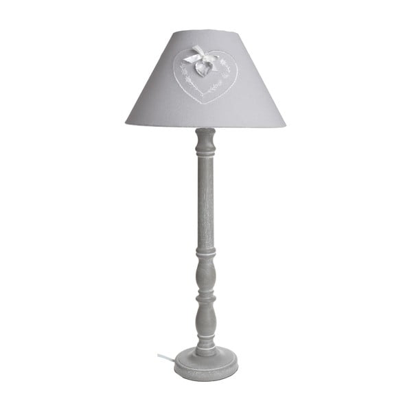 Stolová lampa Grey Heart