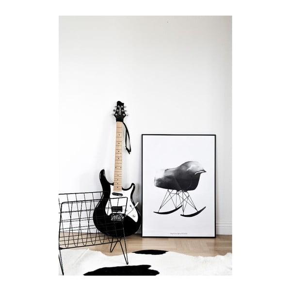 Autorský plagát Rocking Chair, 50x70 cm
