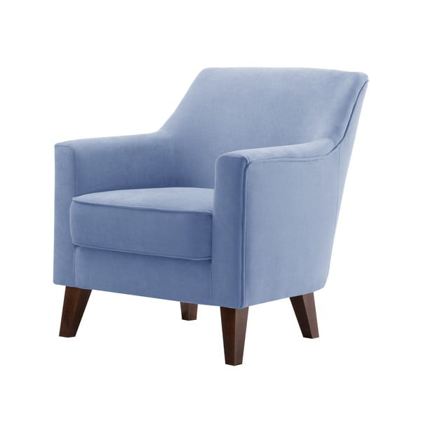 Kreslo Jalouse Maison Kylie, modrá