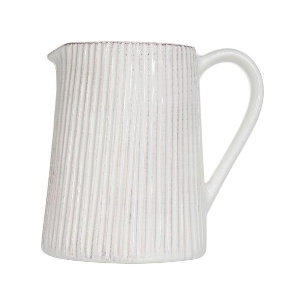 Biely džbán na vodu Cosy&Trendy  Epis, 1390ml