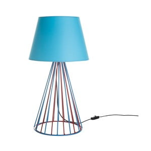 Stolová lampa Wiry Blue/Red
