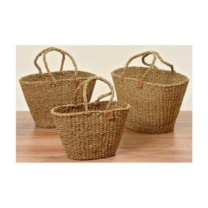 Sada 3 plážových tašiek z morskej trávy Boltze Sophy