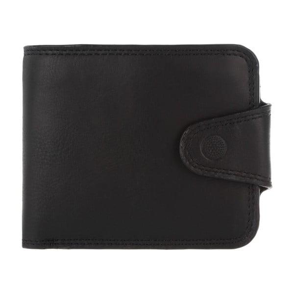 Kožená peňaženka Clark Vintage Black