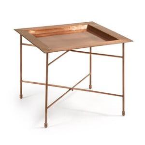 Medený odkladací stolík La Forma Bruce