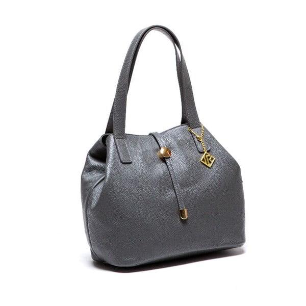 Kožená kabelka Isabella Rhea 1116 Grigio