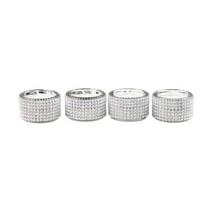 Set 4 svietnikov CIMC Diamante Tealight